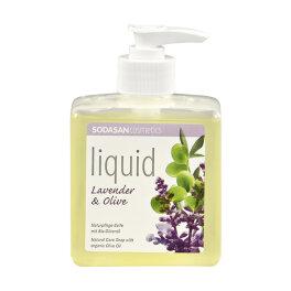 Sodasan Liquid Lavendel-Olive Seife 0,3l