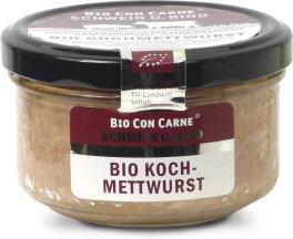 Bio Con Carne Kochmettwurst im Glas 150g