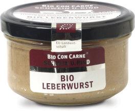 Bio Con Carne Hausmacher Leberwurst im Glas 150g