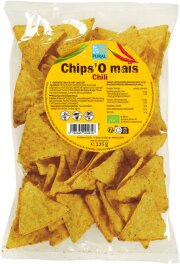Pural Bio Mais-Chips Chili 125g