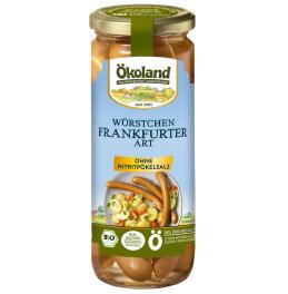 Ökoland Bio Frankfurter im Glas 540g