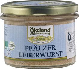 Ökoland Pfälzer Leberwurst Gourmet...