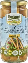 Ökoland Geflügel-Bockwürstchen 6...