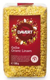 Davert Gelbe Orient Linsen 500g