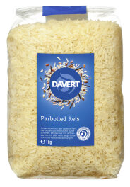 Davert Parboiled Reis Langkorn weiß 1kg