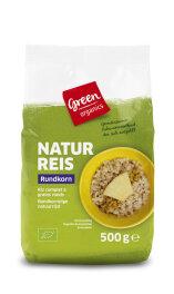 greenorganics Naturreis Rundkorn 500g