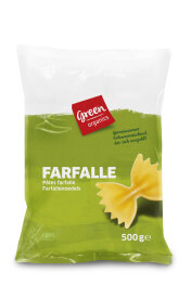 greenorganics Farfalle, hell 500g