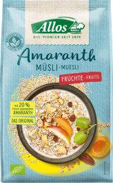 Allos Amaranth Früchte Müsli 375g