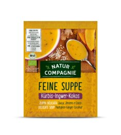 Natur Compagnie Kürbis-Ingwer-Kokos Suppe 40 g
