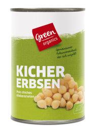 greenorganics Kichererbsen in der Dose 400g