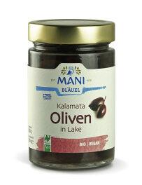 Mani Bläuel Kalamata Oliven in Lake, entkernt 280g