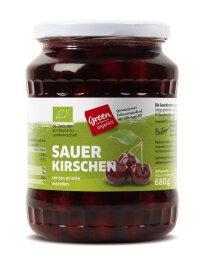 greenorganics Sauerkirschen im Glas 720ml