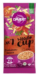 Davert Noodle-Cup Tomatensauce 67g