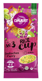 Davert Rice-Cup Indisches Curry 67g