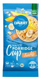 Davert Porridge-Cup Früchte 65g