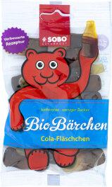 Sobo Bio-Bärchen Cola-Fläschchen 100g