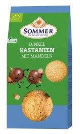 Sommer Dinkel Kastanien mit Mandel 150g Bio