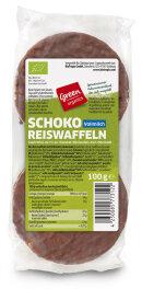 greenorganics Schoko-Reiswaffeln 100g