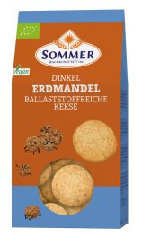 Sommer Erdmandel Kekse aus Dinkel 150g Bio