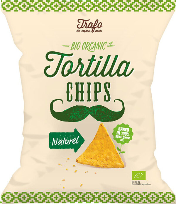 Trafo Tortilla Chips Naturel Bio 75g