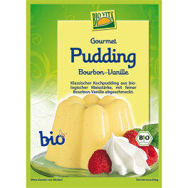 Biovita Gourmet Pudding Bourbon-Vanille 38g