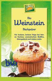 Biovita Weinstein Backpulver 25,5g bio