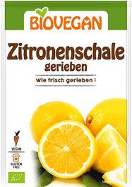 Biovegan Zitronenschalen, gerieben 10g