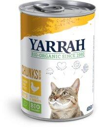 Yarrah Feine Bröck.i.Soße+Huhn 405g