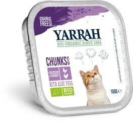 Yarrah Bröckchen Huhn mit Truthahn 100g
