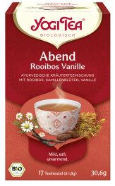 Yogi Tea Abend Rooibos Vanille 17x 1,8g