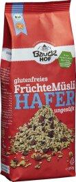 Bauckhof Hafermüsli Früchte,ungesüßt...