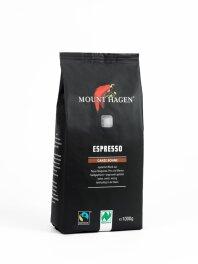 Mount Hagen Espresso ganze Bohne 1kg