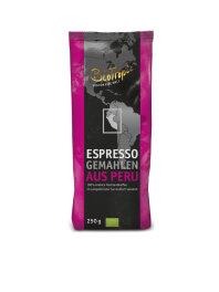 Biotropic Espresso gemahlen