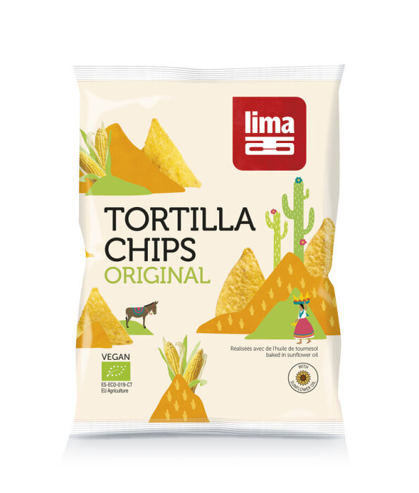 Lima Bio Tortilla Original Chips 90g