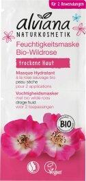 Alviana Feuchtigkeitsmaske Bio-Wildrose (2x 7.5ml)