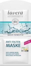 Lavera Basis Sensitiv Anti-Falten Maske Q10 10ml