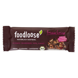 Foodloose Bio Frisco Crisp Nussriegel 35g