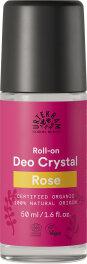 Urtekram Rose Deo Crystal Roll-On 50ml
