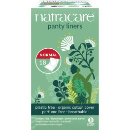 Natracare Panty Liners Slipeinlagen Normal 18 Stück