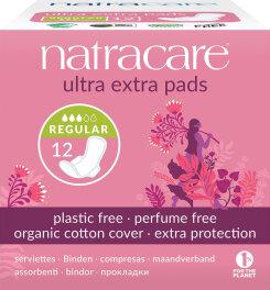 Natracare Ultra Extra Damenbinden Normal 12 Stück