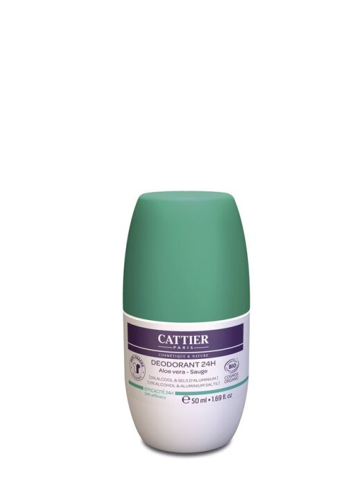 Cattier Deodorant 24h Roll-On 50ml