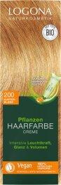 Logona Pflanzen-Haarfarbe Creme kupferblond 150ml