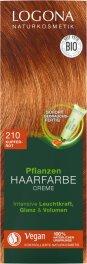 Logona Pflanzen-Haarfarbe Creme kupferrot 150ml