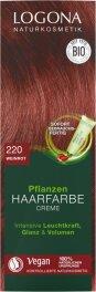 Logona Pflanzen-Haarfarbe Creme weinrot 150ml