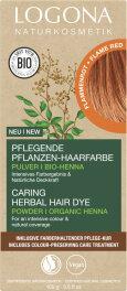 Logona Pflanzen-Haarfarbe Pulver flammenrot 100g
