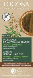 Logona Pflanzen-Haarfarbe Pulver nussbraun 100g