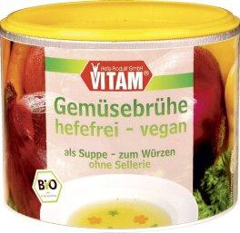Vitam Gemüsebrühe Instant, hefefrei 200g Bio