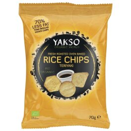 Trafo Bio Rice Chips Teriyaki 70g
