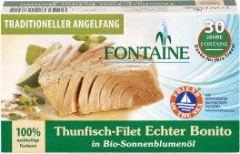 Fontaine Thunfisch Bonito Sonnenblumenöl 120g