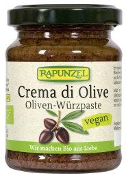 Rapunzel Bio Crema di Olive Oliven-Würzpaste 120g